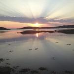 sunset Skagerrak