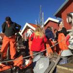 'fishermen' in gear