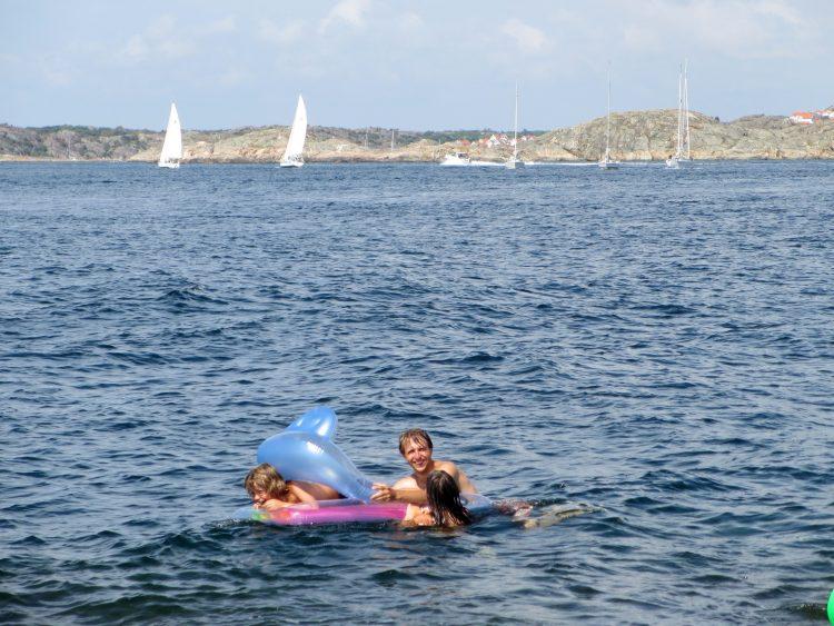 swimfun in Skagerrak sea